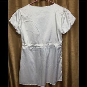 Express Tops - Express Vneck Bell Sleeve Blouse